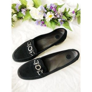 Stuart Weitzman size 9 black loafers
